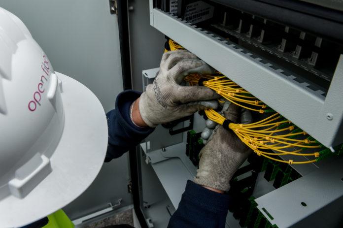 A Lecce la fibra di Open Fiber è già realtà