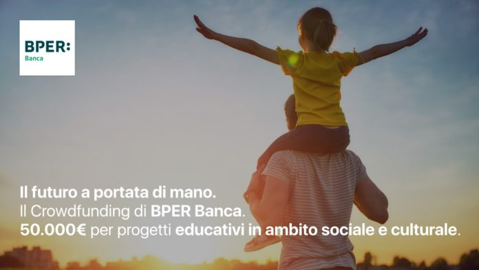 BPER Banca sostiene i 5 progetti di Il futuro a portata di mano