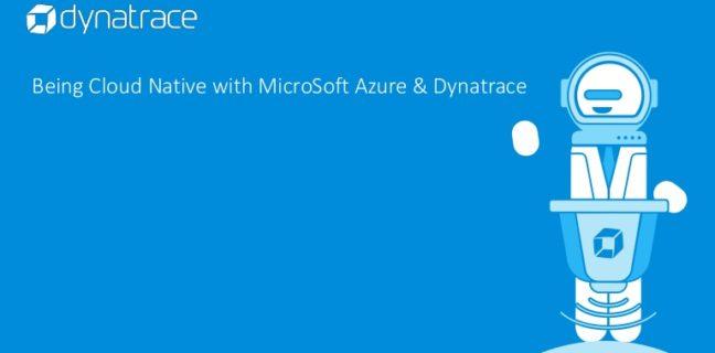 Dynatrace annuncia una migliore osservabilità basata sull'intelligenza artificiale per Microsoft Azure.