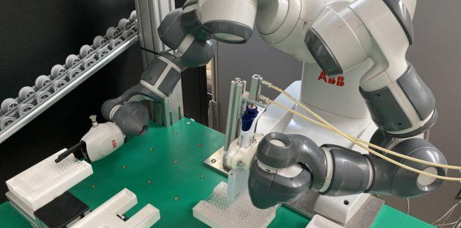 Covid-19: YuMi il robot collaborativo per analizzare test sierologici
