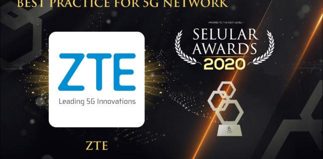Premio Best Practice a ZTE per la rete 5G al 17° Selular Awards 2020