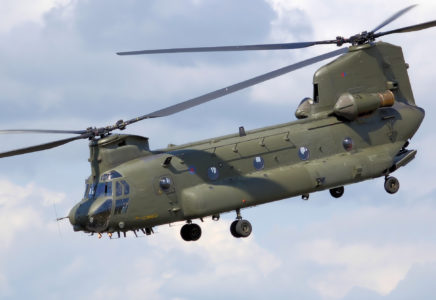 Boeing riceve un ordine di elicotteri Chinook