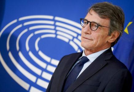 Il Presidente UE Sassoli sulla Bielorussia: «stop alla violenza»
