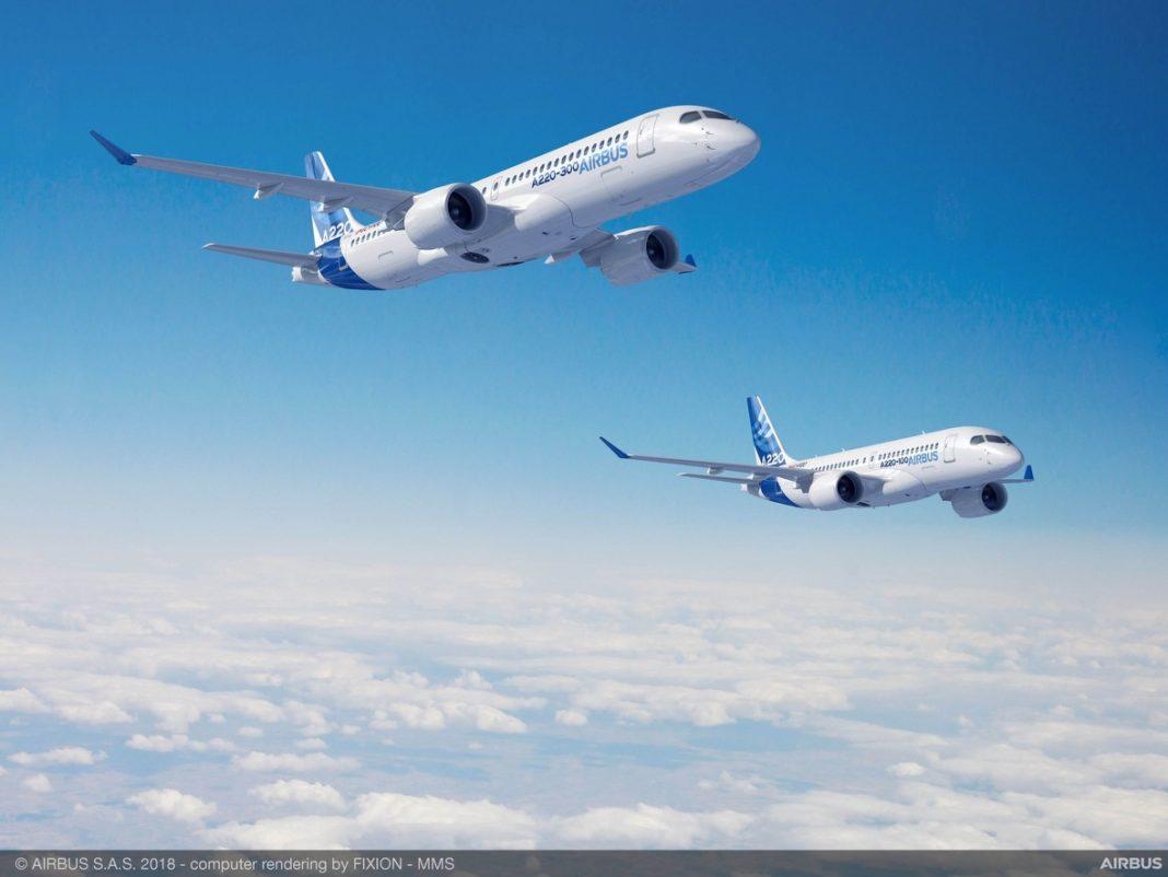 Airbus Canada trasferisce i servizi di gestione del materiale dell'A220 a Satair