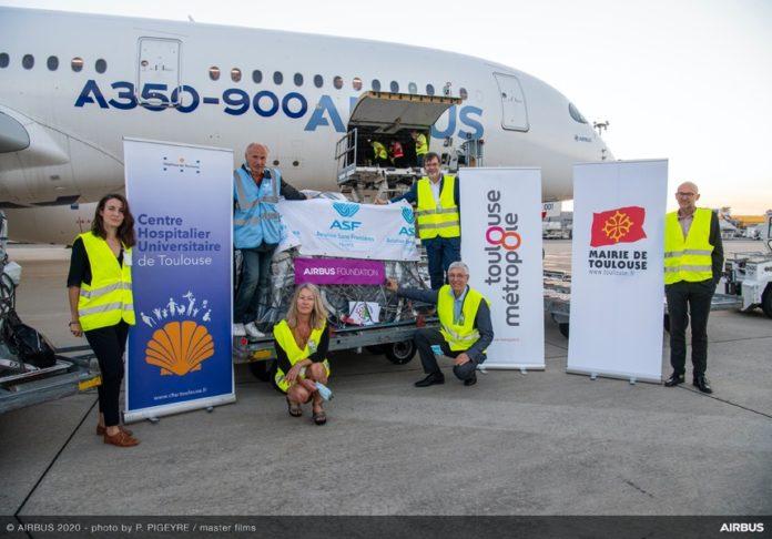 Aiuti umanitari a Beirut da Airbus Foundation e i suoi partner