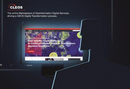 e-GEOS presenta CLEOS, la geoinformazione a portata di click
