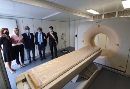 Nuova TAC per l'Ospedale da Campo di Bergamo