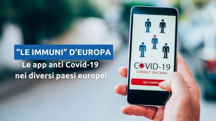 """""""Le Immuni"""" d'Europa: confronto tra le app di contact tracing"""