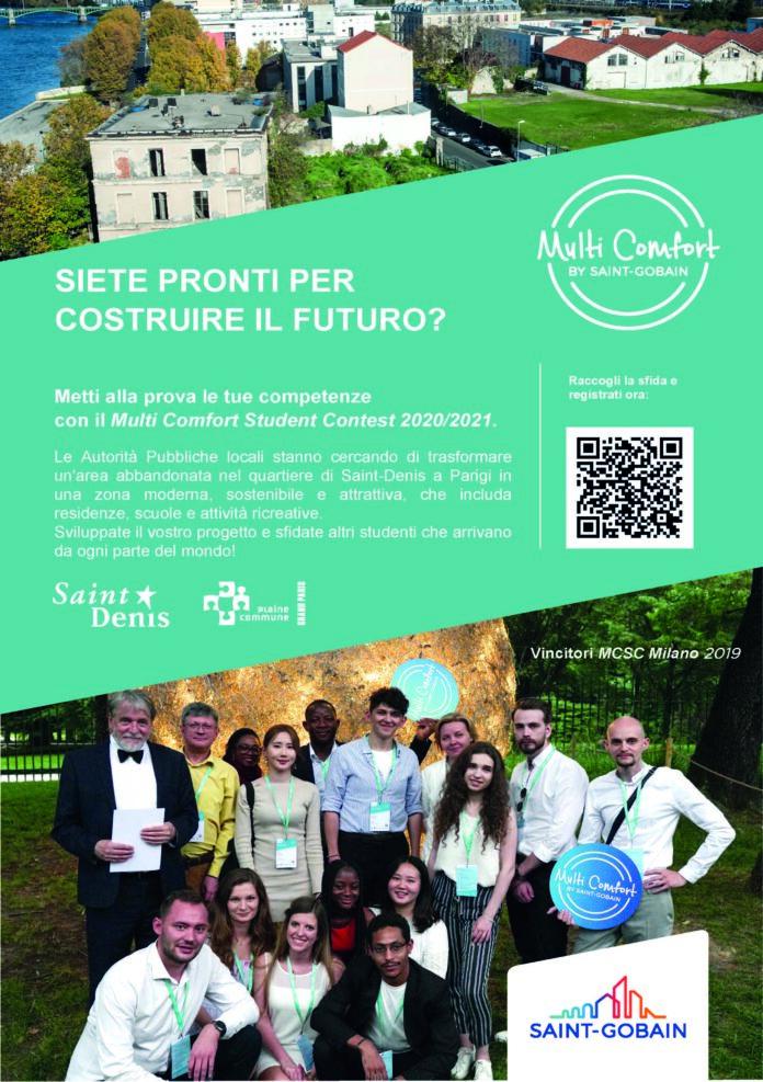 Saint-Gobain: Al via il concorso internazionale per studenti architettura e ingegneria