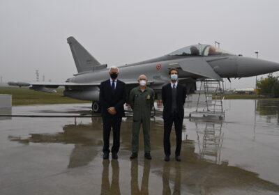 Leonardo: all'Aeronautica Militare il più avanzato dei suoi Eurofighter Typhoon
