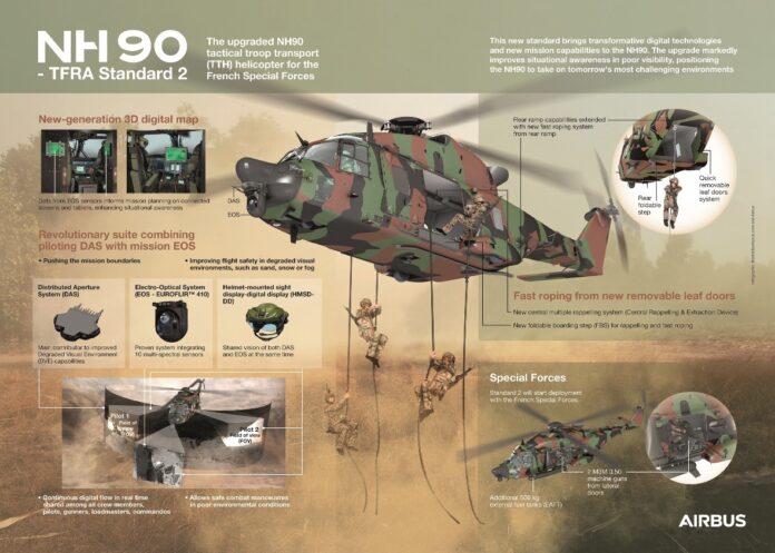 La Francia firma il contratto per il potenziamento dell'NH90 TTH per le Forze Speciali