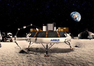 Con ROXY, Airbus trasforma la polvere lunare in ossigeno