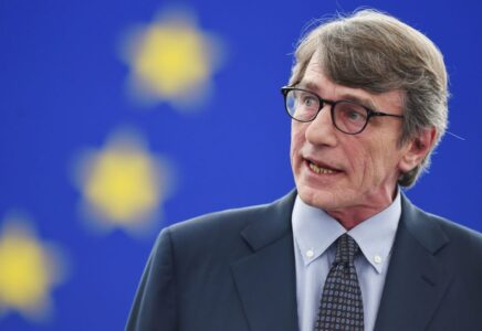 Parlamento Europeo, Sassoli: Non vogliamo un mondo di privilegiati