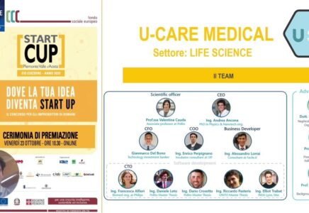 U-Care Medical vince Start Cup Piemonte Valle d'Aosta_startup