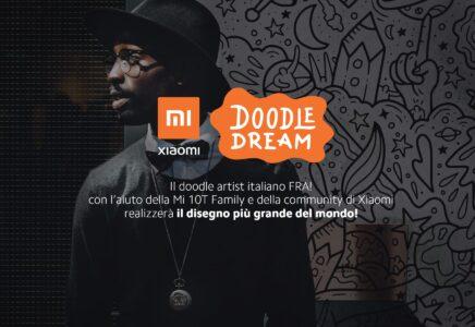 Xiaomi e FRA! insieme per il progetto Doodle Dream