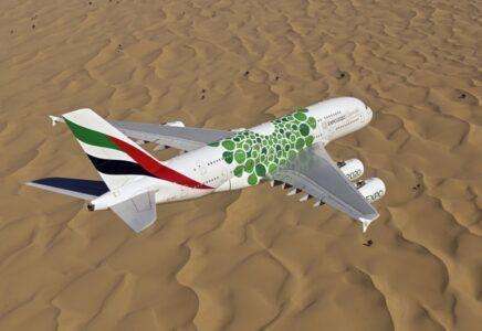 Emirates porta l'A380 in Giordania e incrementa il numero dei voli nel paese