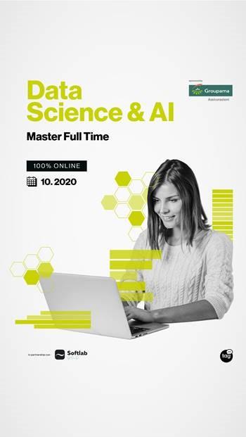 Al via il Master in Data Science & AI sponsored by Groupama Assicurazioni