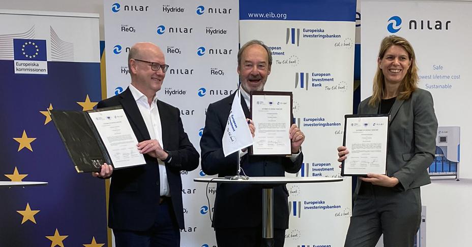 L'UE sostiene la tecnologia innovativa delle batterie attraverso Nilar