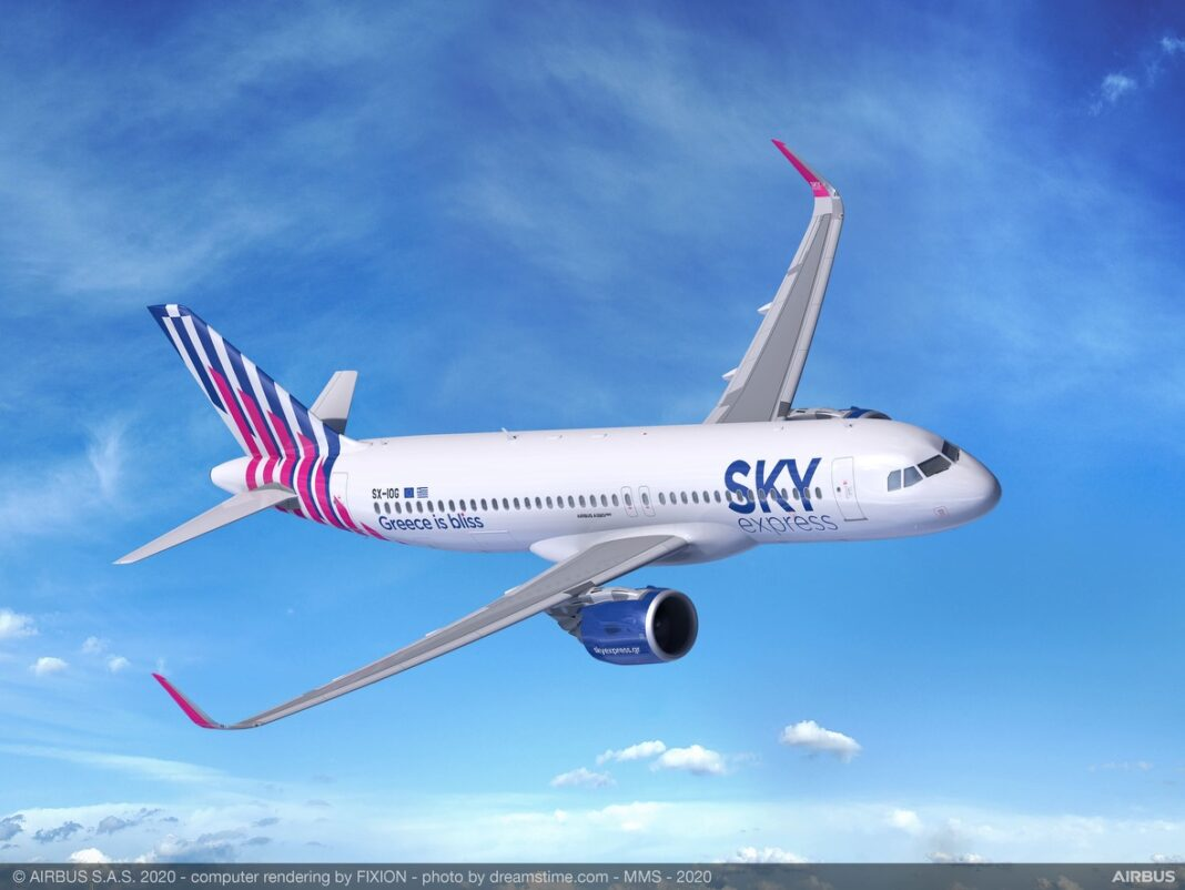 SKY express ordina quattro A320neo e diventa un nuovo cliente Airbus