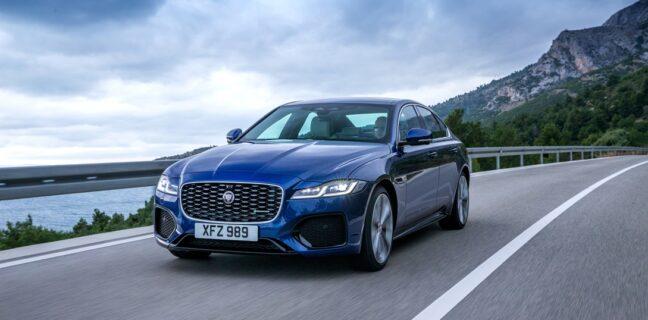 Nuova Jaguar XF: elegante, lussuosa e connessa