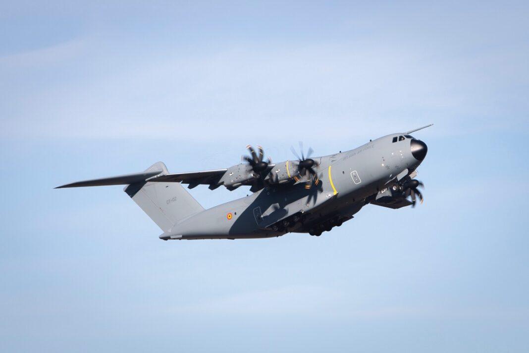 Airbus consegna il primo A400M all'Aeronautica Militare belga