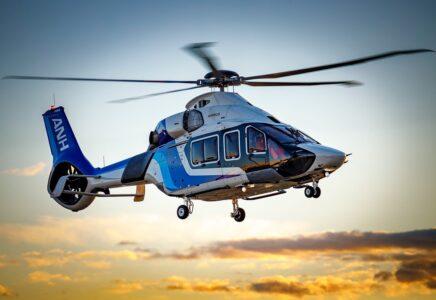 L'H160 della All Nippon Helicopter completa il primo volo