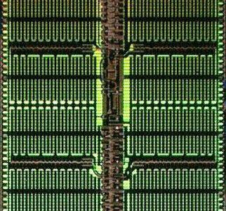 Micron 1α node DRAM die (8Gb DDR4)