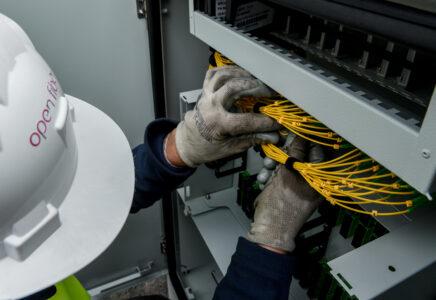 Open Fiber ad Assemini con la fibra ultraveloce