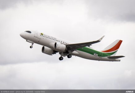 Air Côte d'Ivoire riceve il suo primo Airbus A320neo