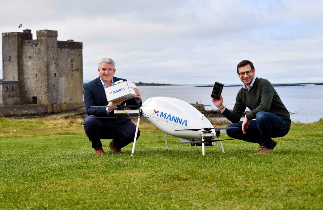 Irlanda: i droni di Manna consegnano a domicilio gli smartphone di Samsung