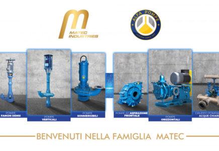 Il gruppo Matec Industries acquisisce il 100% della veronese Alfa Pompe