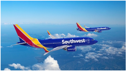 Southwest Airlines ordina 100 Boeing 737 MAX, oltre a 155 opzioni