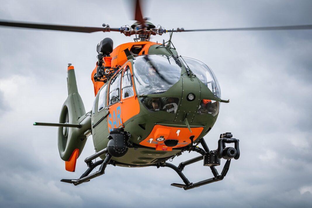 Airbus consegna il settimo H145 per il servizio di ricerca e soccorso delle forze armate tedesche