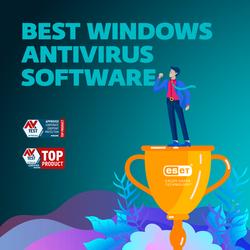 ESET riceve da AV-TEST il Top Product award per il miglior software antivirus Windows