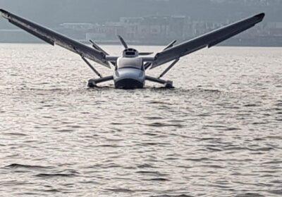 Sul Lago Miseno ha volato per la prima volta Seagull