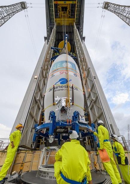 Il primo satellite della costellazione Pléiades Neo è in orbita