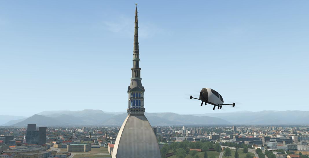 Nasce a Torino il primo Digital Twin della Mobilità Aerea Urbana
