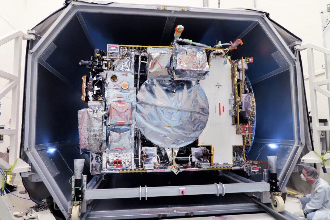 Prima prova di spazio per la sonda di Giove JUICE
