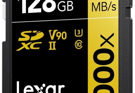 LEXAR: la scheda 2000x SDHC/SDXC UHS-II nominata Best Memory Card