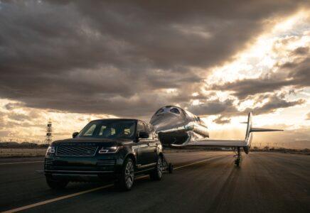 Virgin Galactic e Land Rover: dalla partnership nasce la nuova Range Rover Astronaut Edition
