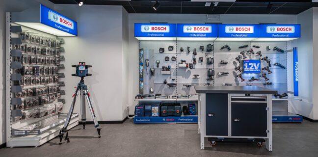 IlCentro FormazioneBosch è attrezzato per accogliere i clienti del settore industriale, artigiano, edile, elettrico e della grande distribuzione