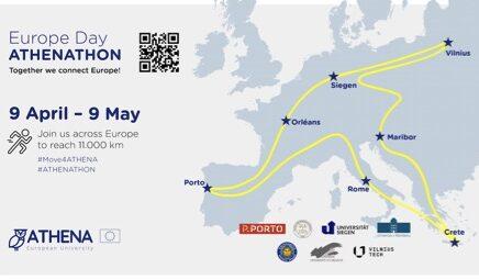 """""""Athenathon"""", la maratona social delle Università europee a difesa di ambiente e clima"""