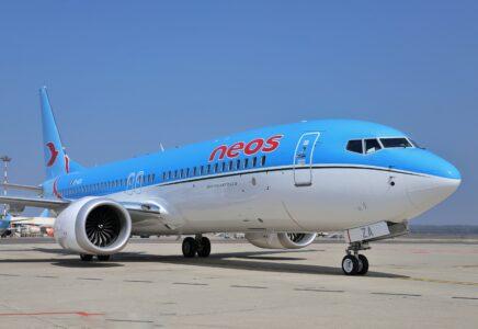 Neos: DUE NUOVI 737 MAX 8 IN FLOTTA