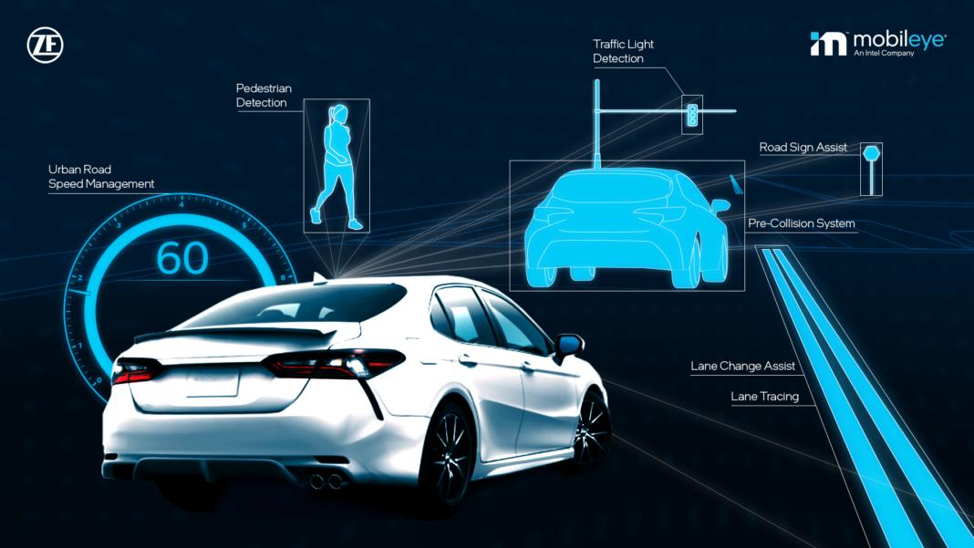 ZF e Mobileye per Toyota: tecnologie per la sicurezza