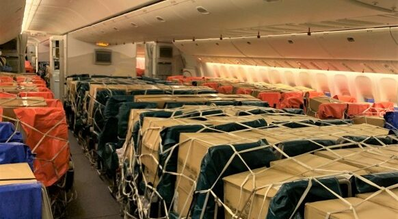 Emirates SkyCargo, in un anno più di 3.100 voli e 11.000 tonnellate di merci trasportate