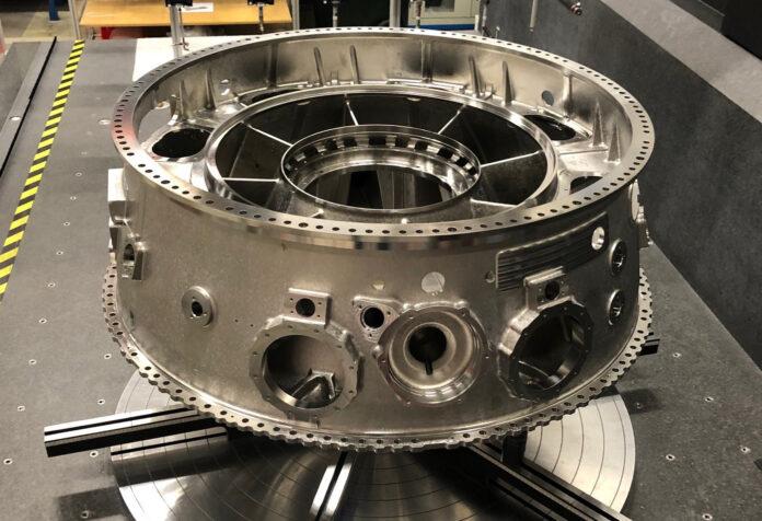 GKN Aerospace consegna il primo contenitore intermedio del compressore per il motore UltraFan ICC