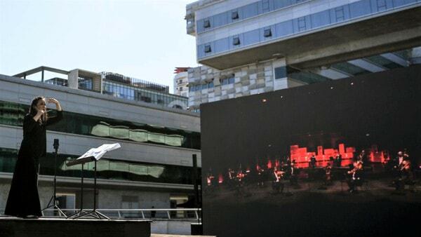 Ericsson e Vodafone Portugal: il 5G permette all' orchestra di Joana Carneiro di non perdere il ritmo