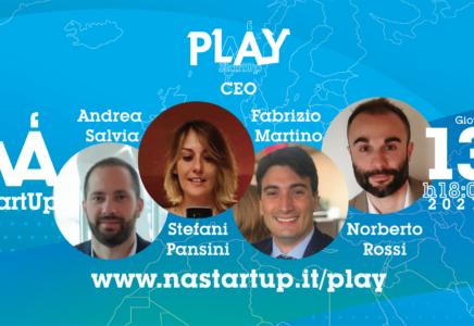 Startup di Napoli e Milano Accelerano insieme con StartupPlay
