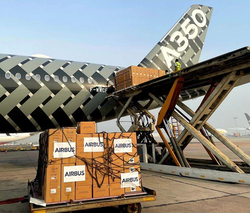 Airbus amplia l'assistenza sanitaria COVID-19 in India
