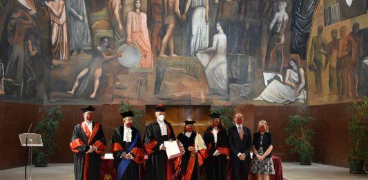 La Sapienza conferisce il Dottorato honoris causa al Presidente della Repubblica Tunisina Kaïs